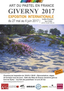 Svetlina sélectionnée au salon international du pastel de Giverny 2017